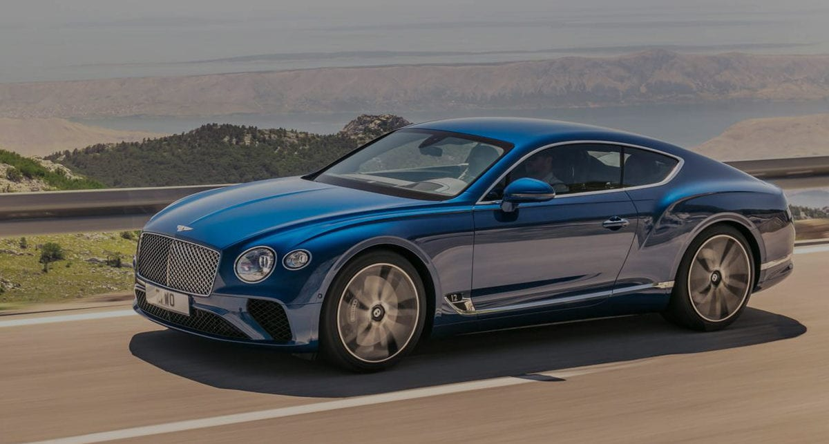 Bentley Continental GT - Prestige Vehicle Finance