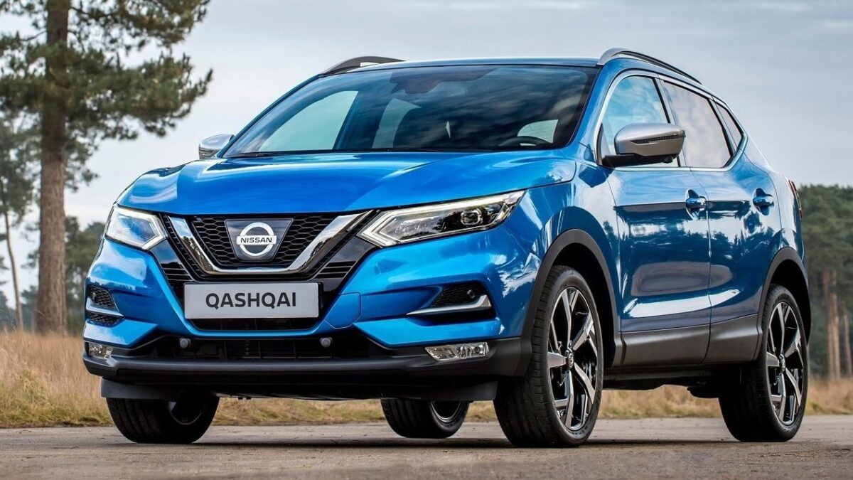 nissan qashqai blue forza finance